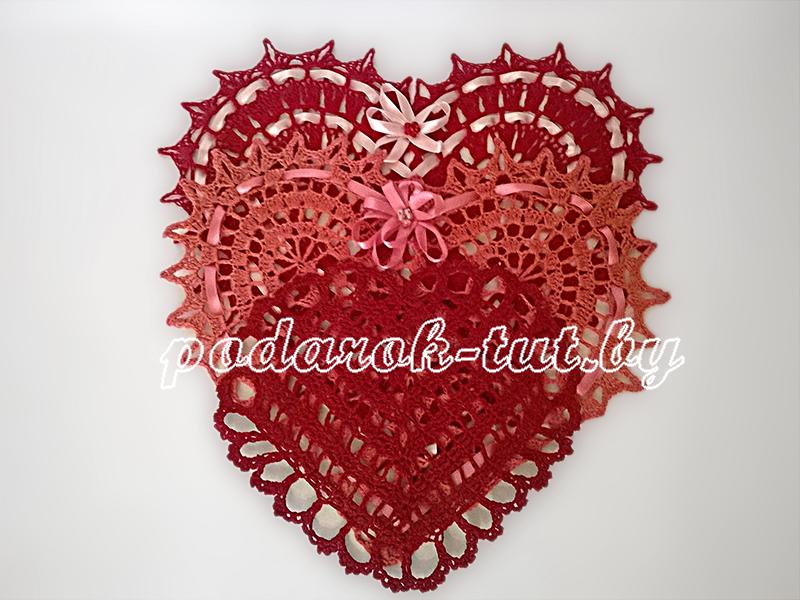 Салфетка большая «Сердце»